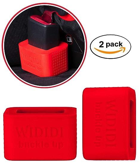 2 unidades Soporte para la hebilla del cinturón de seguridad del coche de Wididi Buckle Up