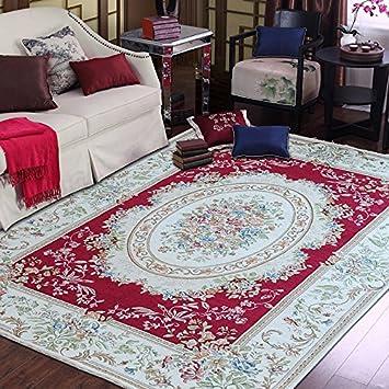Amazon.de: Unbekannt Europäischer Stil Teppich Wohnzimmer ...