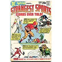 DC Special #7 1970- Strangest Sports Stories Ever Told VG