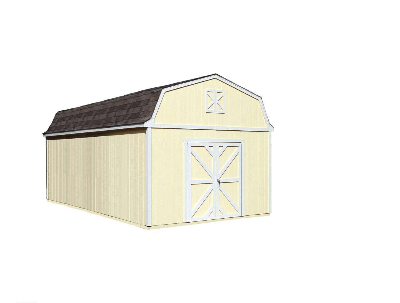 Handy Home Products Sequoia Wooden Storage Shed, 12 by 24-Feet by Handy Home Products