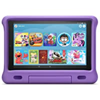 Kid-Proof Case for Fire HD 10 Tablet (Compatible with 7th and 9th Generations, 2017 and 2019 Releases), Purple