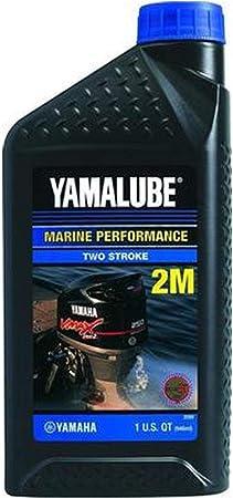 Yamaha Lub 2strk M1 12 Yamalube 2 M Marine 2 Takt Motoröl Nmma Tc W3 Quart Lub2strkm112 Hergestellt Von Yamaha Auto