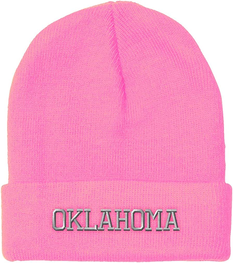 Skull Knit Hat With Custom Embroidery Your Text Here One Size