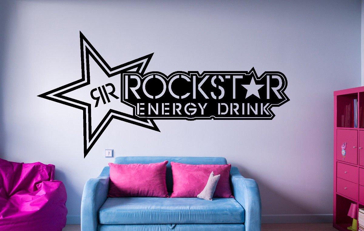 Wandtattoo Rockstar Energy Symbol Emblem (XL)