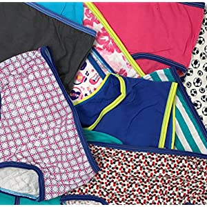 Women's Pack of 24 Pair Cotton Soft Full Cut Brief Panties (Medium, 24 PACK- Assorted Colors & Prints)