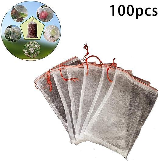 Benefit-X Red de jardín 100 piezas de tela de nailon bolsas de ...