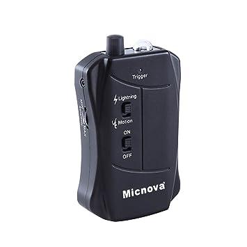 Micnova LC03C Disparador Lightning Rayo Motion Sensor Sensor de Movimiento Trigger Remote For Canon DSLR Camera