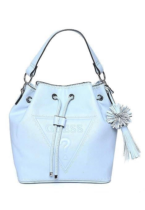 84453318 Guess- Bolsa Bucket Azul Bolsa para Mujer Azul Talla Unitalla:  Amazon.com.mx: Ösom