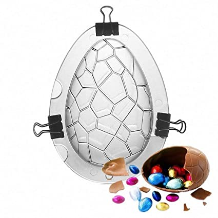 Weite Creative Easter Egg Mold - Durable Dinosaur Egg Festal Surprise DIY Toy Acrylic Mould for