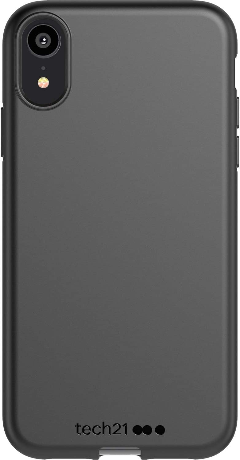 tech21 Studio Colour Phone Case for Apple iPhone XR - Back To Black