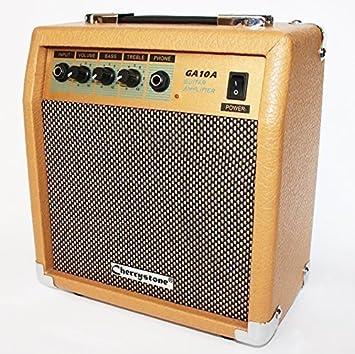 Cher rystone 0754235506232 Amplificador de Guitarra (15 W) marrón: Amazon.es: Instrumentos musicales
