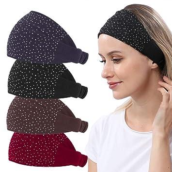 Hair Headband Dark Grey Girl Wide Band Accesories