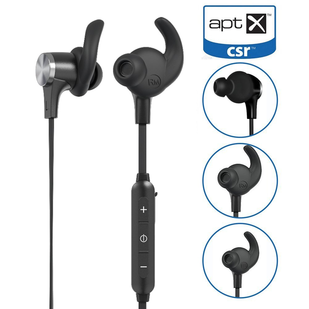 Details about Aptx Low Latency Bluetooth Headphones, Mini In Ear Bluetooth  4 1 Magnetic