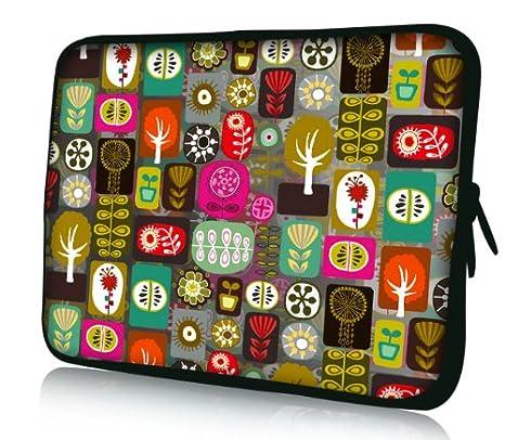 Luxburg® Design Funda Blanda Bolso Sleeve para Ordenador Portátil/MacBook de 13,3 pulgadas, motivo: Patchwork: Amazon.es: Electrónica