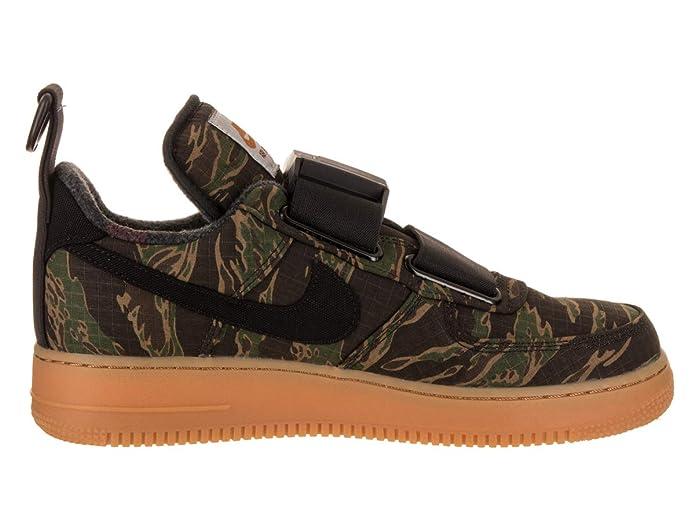 finest selection d9d20 cb64f Amazon.com   Nike Men s Air Force 1 UT Low PRM WIP Basketball Shoe   Shoes