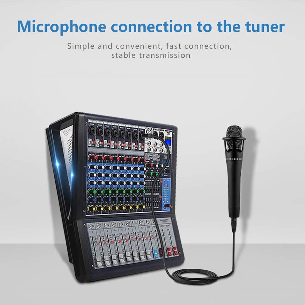 2m, Bleu TRS St/ér/éo m/âle /à XLR Femelle C/âble de Microphone en Nylon Tress/é pour Smartphone Ordinateur Cam/éra Vid/éo LoongGate 3.5 mm 1//8 inch