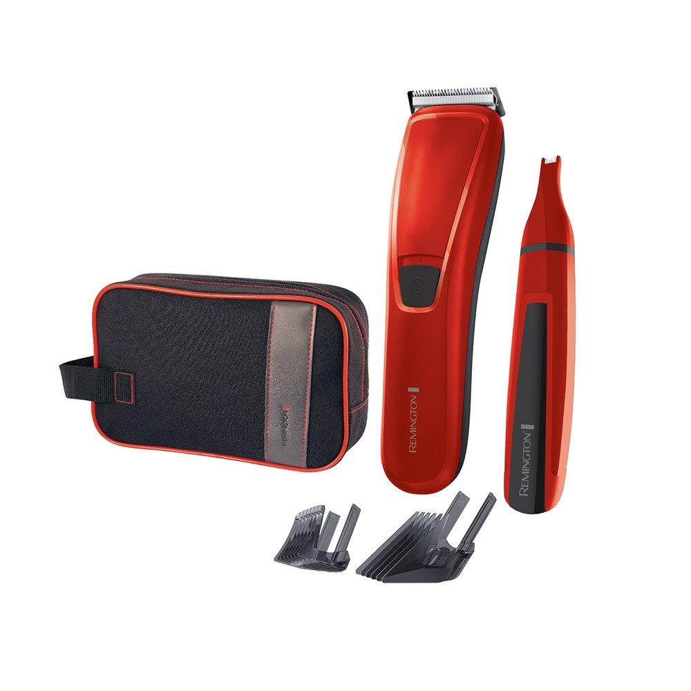 Remington HC5302 Precision Cut Limited Edition - Cortapelo y recortador facial, color rojo Spectrum Brands