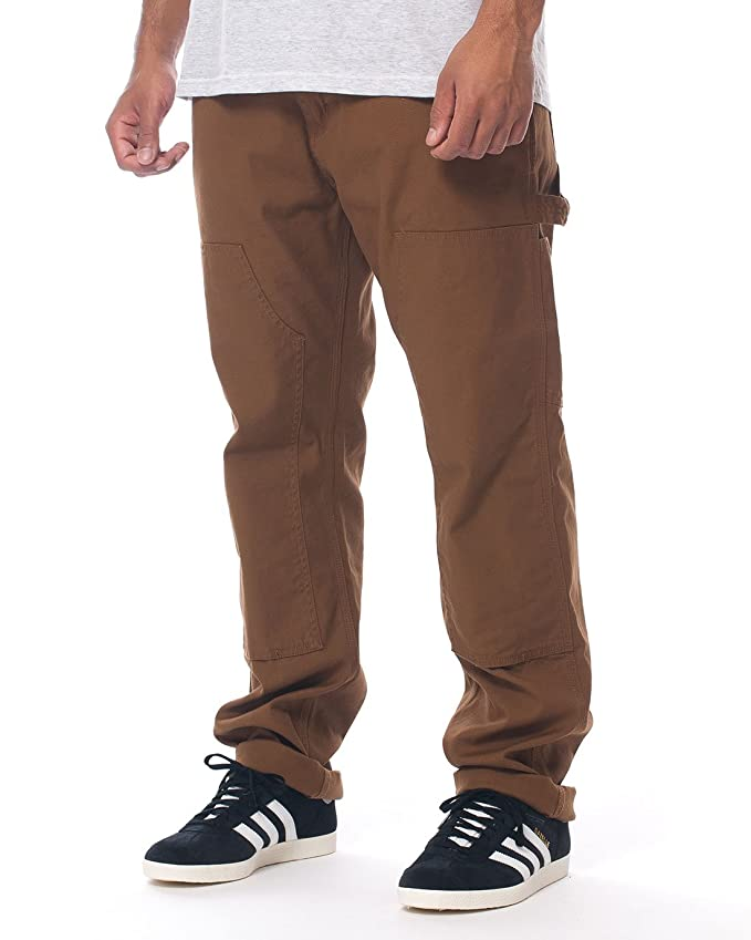 0eddd4375ce Carhartt WIP Men Ruck Double Knee Pant, hamilton brown rinsed:  Amazon.co.uk: Sports & Outdoors
