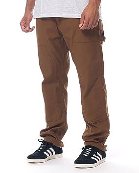 fdf760301e4 Carhartt WIP Men Ruck Double Knee Pant, hamilton brown rinsed ...