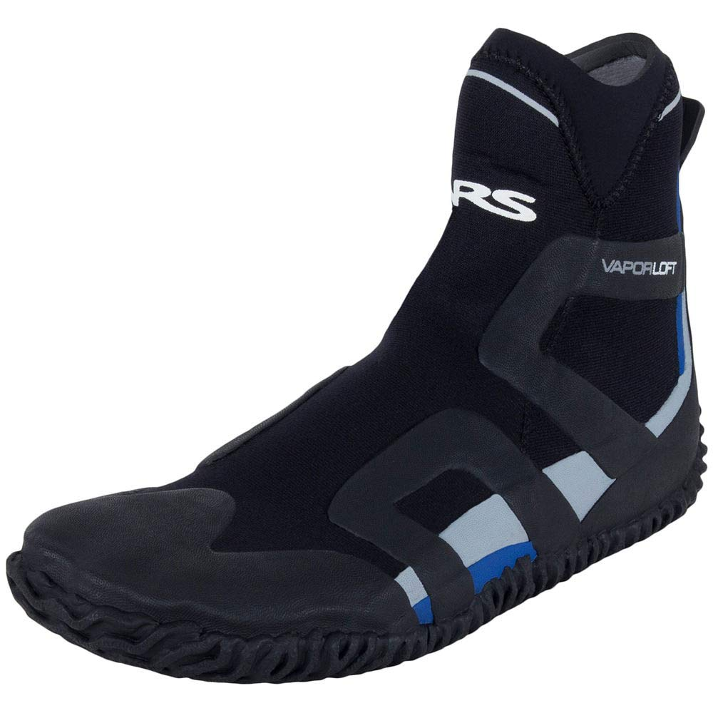 NRS Desperado Wetshoe - Men's Shoes 9 Black/Blue by NRS