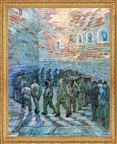 Art Oyster Vincent Van Gogh Prisoners Exercising (After Dore) - 20.05