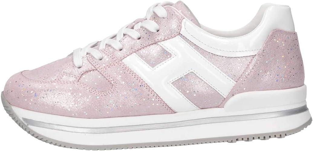 Hogan Junior HXC2220T548KIW394E Sneakers Bambina Rosa 33: Amazon ...