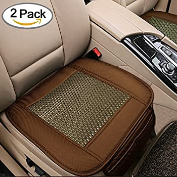 2pc car seat cushion breathable rattan design pad mat interior covers cushion for. Black Bedroom Furniture Sets. Home Design Ideas