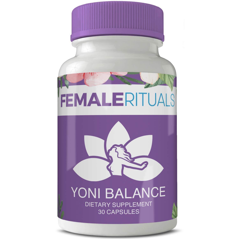 Female Rituals - Yoni Balance - Vaginal Tightening Pills - No Tightening Gel or Cream Needed - Natural Vaginial Tightening Products With Kacip Fatimah - Vagy Rejuvenation Vaginal Dryness Moisturizer