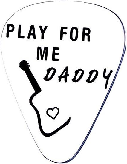 Púas de guitarra personalizadas Play for Me Daddy para papá, de ...