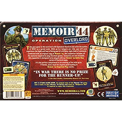 Memoir '44: Operation Overlord Expansion: Toys & Games