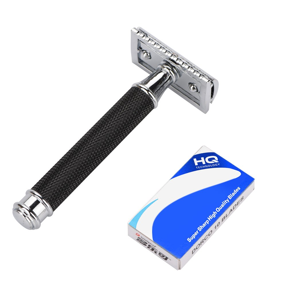 Mens Razors/Blades, Men Classic Style Double Edge Razor Hair Removal Shaving Beard Safe (3#) Yotown