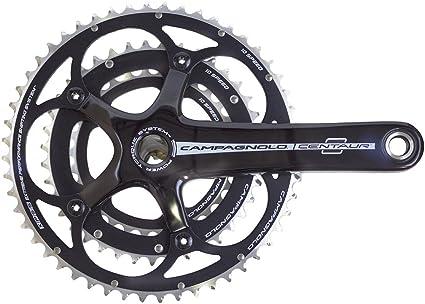 Campagnolo Race Black 10 Speed Triple 30//42//52 Crankset 175mm