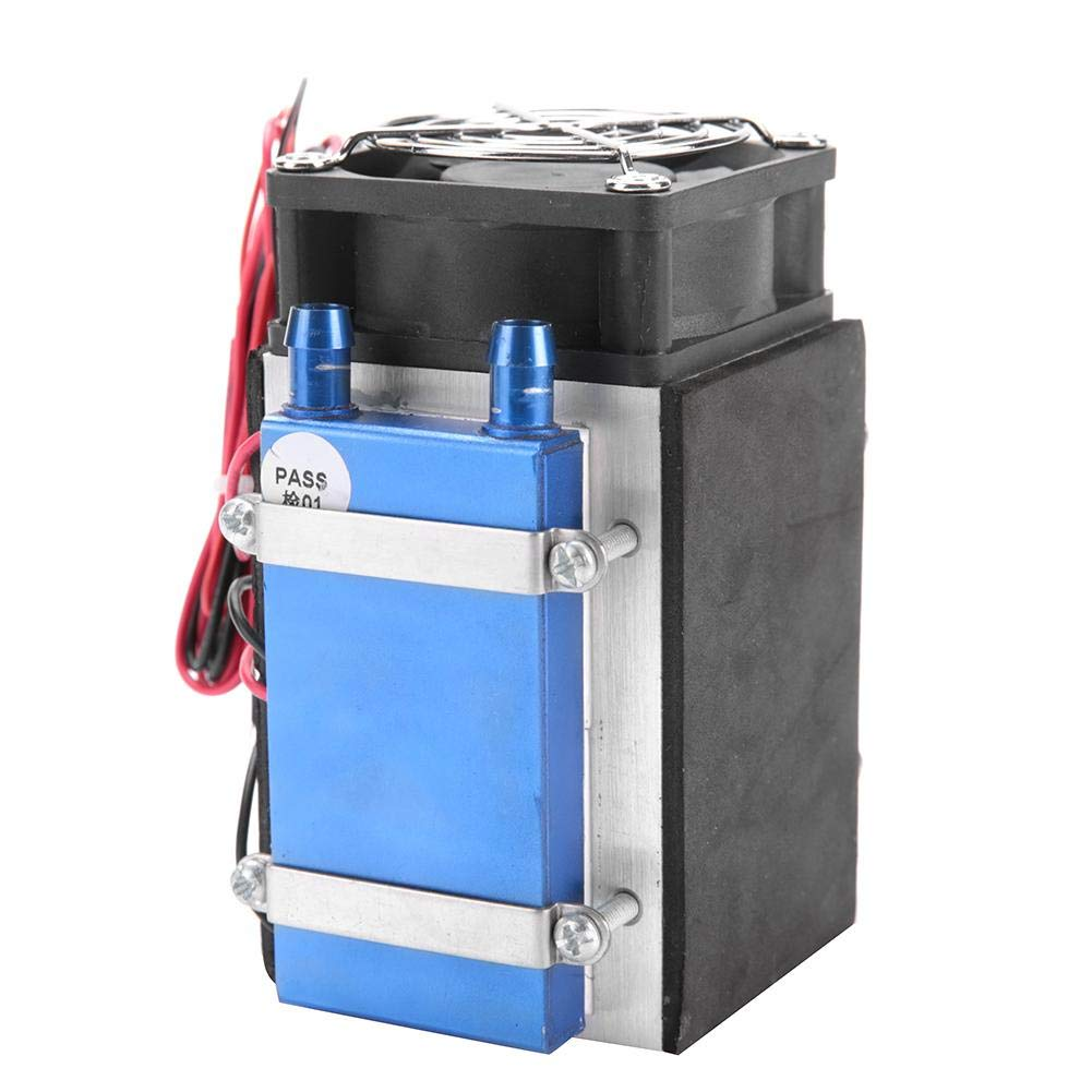 Hilitand 12V 280W 4-Chip Thermoelectric Semiconductor Cooler Air Cooling Device Low Noise and Low Vibration Light Weight
