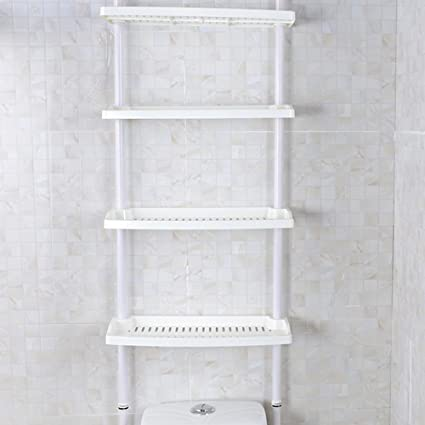 Feibrand - Estante de almacenamiento para cocina y baño, 4 estantes ...