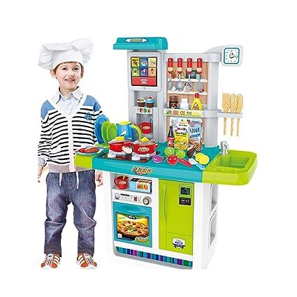 Amazon.com: Kitchen Toys Kitchen Playsets Children\'s Plastic ...