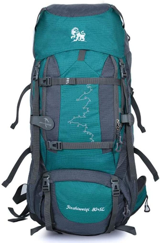 80L+5L Internal Frame Backpack Large Rucksack for Men /& Women Outdoor Mountaineering Bag Camping Travel /& Backpacking with Rain Cover Multi-day Pack for Hiking a