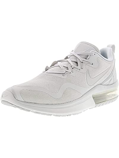 Perfekt Nike Running Air Max Fury Trainers Schwarz Weiß