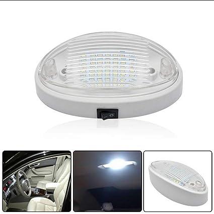 MASO - Lámpara LED para techo de coche, 12 V, para techo, techo ...