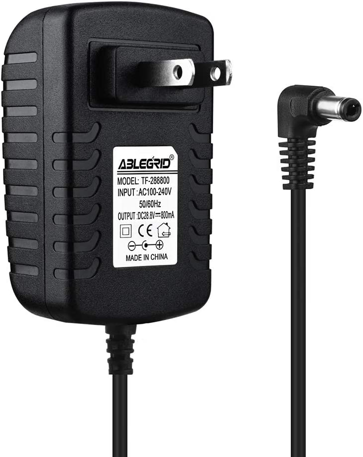 ABLEGRID AC Adapter Charger for Shark IONFlex 2X IF252 IF-252 DuoClean Vacuum Power Supply Cord Mains PSU