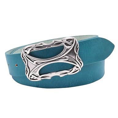 e4896f163f72 BeltArt - Ceinture - Femme Turquoise Turquoise  Amazon.fr  Vêtements et  accessoires
