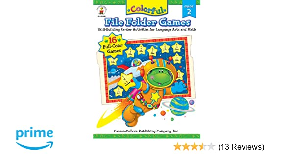 Colorful file folder games grade 2 skill building center colorful file folder games grade 2 skill building center activities for language arts and math colorful game book series lynette pyne 0044222158286 fandeluxe Gallery