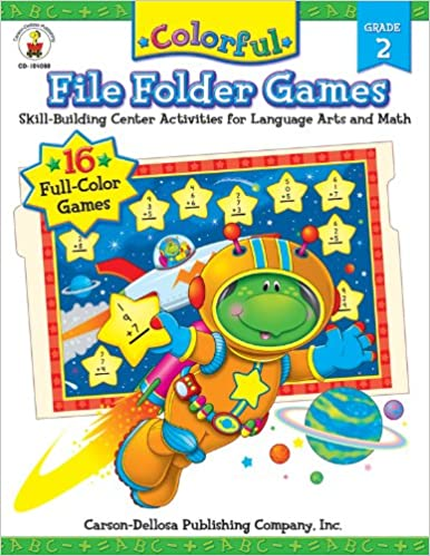Download online Colorful File Folder Games, Grade 2: Skill-Building Center Activities for Language Arts and Math PDF, azw (Kindle)