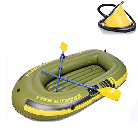 Amazon.com: Boatb Kayak inflable, juego de barco inflable ...