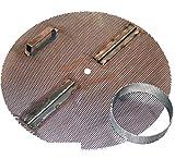 15'' Jaybird False Bottom for Keg / Keggle. Reverse Hinge, Handle, Hole, + Level 1 Filter Stand