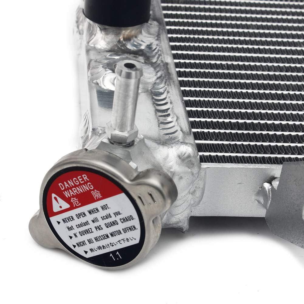 TARAZON Moto Aluminium Radiateur de refroidissement moteur watercooling pour Suzuki SV650 SV650S SV 650 S 2005 2006 2007 2008 2009 2010 Refroidisseur deau radiateur