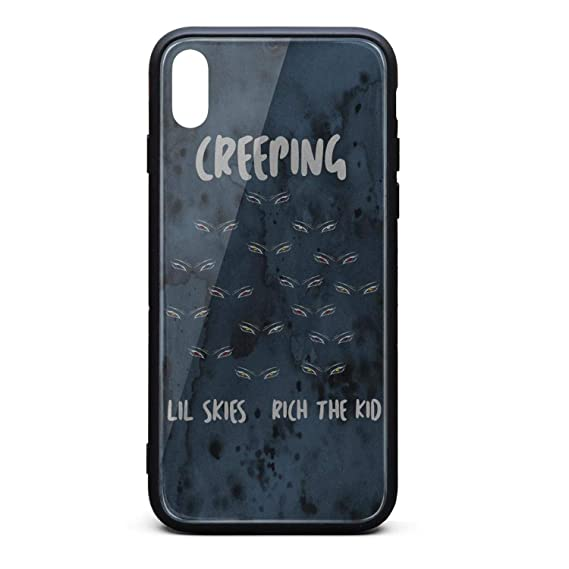 reputable site 1cf4e 86590 Amazon.com: Rich-The-Kid-Creeping-Lil-Skies- Phone Case for iPhone ...