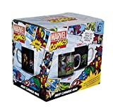 Marvel Comics Character Oversized Mug 550ml | Ideal For A Superhero Coffee Or Tea | Inspired By Original Comic Books | Retro Design For Comic Fans | Large Porcelain Ceramic Cup With 16 Characters
