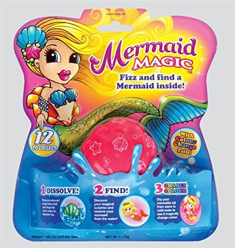 Mermaid Magic Fizz (colours may vary) H GROSSMAN LTD SV7215