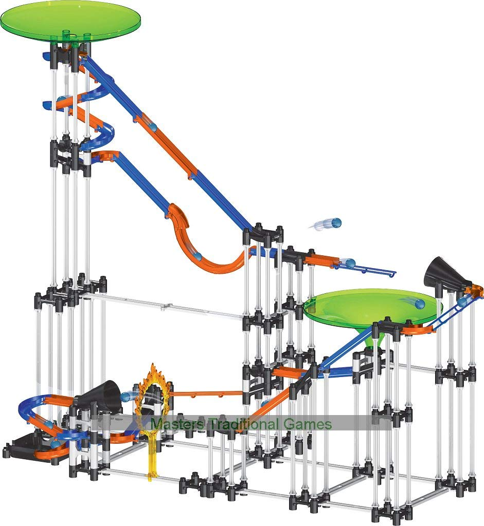 197 Piece Mechanical Marble Run - House of Marbles - Large Giant Game Jump Race by House of Marbles by House of Marbles (Image #2)