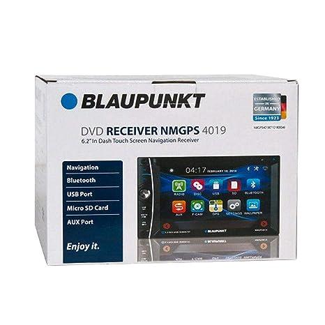 Blaupunkt NMGPS401 - Pantalla táctil de 6,2 Pulgadas para Coche (DVD/CD